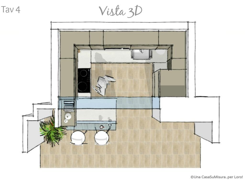 Progettazione Cucina 3d | Progettazione Della Cucina Moderna Con ...