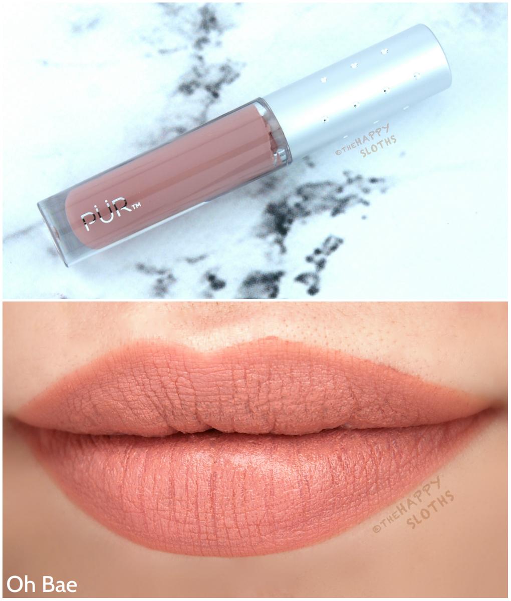 Pur Velvet Liquid Lipstick in Oh Bae