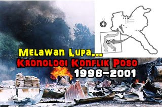 Melawan Lupa, Kronologi Konflik Poso 1998-2001