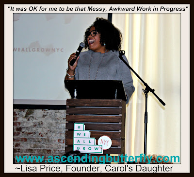 Lisa Price, Founder, Carols Daughter panelist at #WeAllGrowNYC 2015