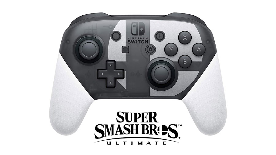 super smash bros ultimate special edition switch pro controller