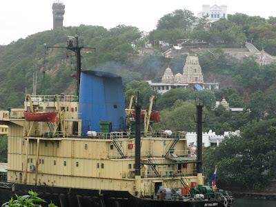 port venkateswara temple &Ross hill in visakhapatnam