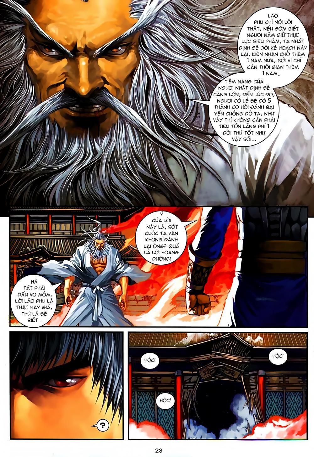Ôn Thuỵ An Quần Hiệp Truyện Phần 2 chapter 37 trang 23