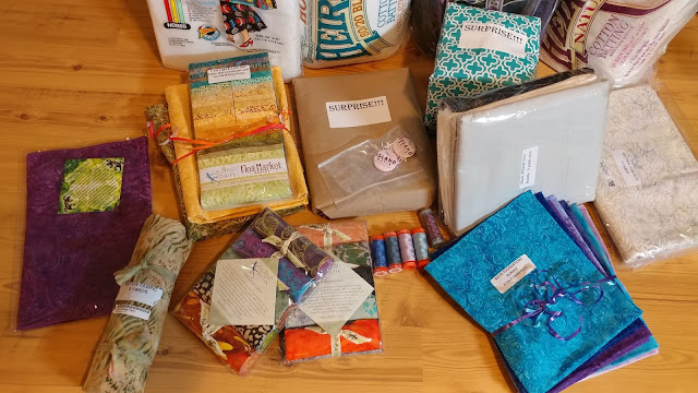 Island Batik ambassador 2019 box of fabric