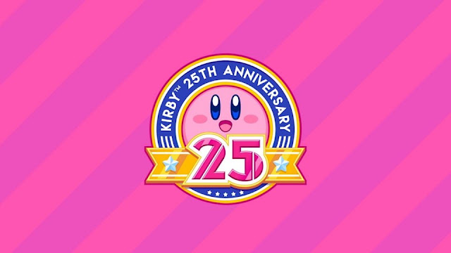 Nuestra bola rosa favorita Kirby cumple hoy 25 años, ¡y que sean muchos más!