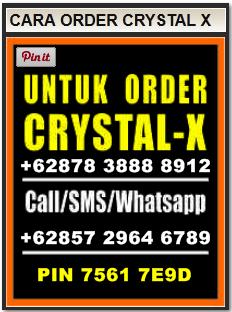 cara order crystal x Terbaru