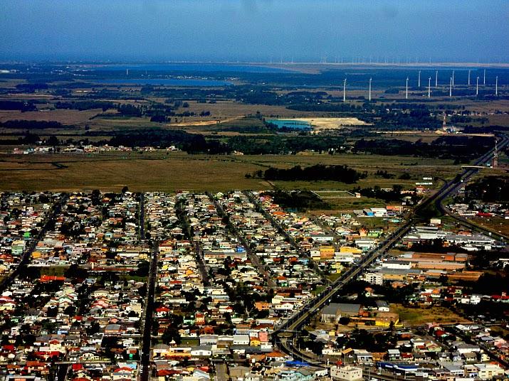Estrada do Mar e Parque Eólico de Osório