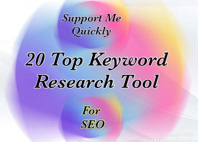 Top 20 Free Keyword Research Tool