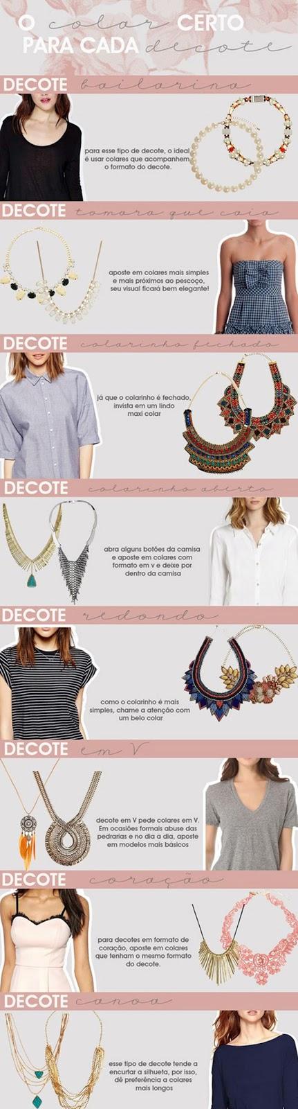como combinar colar com o decote, decote e colares, colares e decotes, blog camila andrade, blogueira de moda em ribeirão preto, fashion blogger em ribeirão preto, o melhor blog de moda, consultoria de estilo