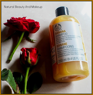The Body Shop Banana Shampoo// Review, Price and Other Details on Natural Beauty And Makeup