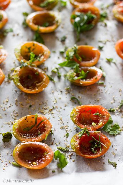 Pomodorini confit fatti in casa