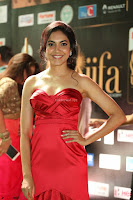 Reetu Varma smiling beauty in Deep Neck Red Gown at IIFA Utsavam Awards 2017  Day 2  Exclusive 32.JPG