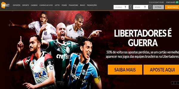 188Bet sites de apostas online Libertadores da América