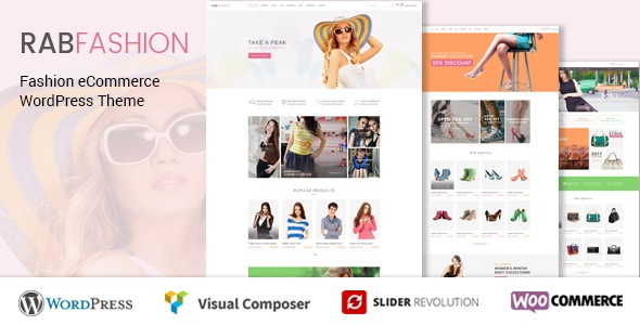 Free Fashion eCommerce WordPress Theme