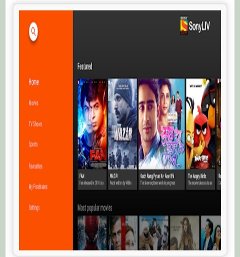 Download SonyLIV Live TV Sports Movies v2.1 (Android Tv)