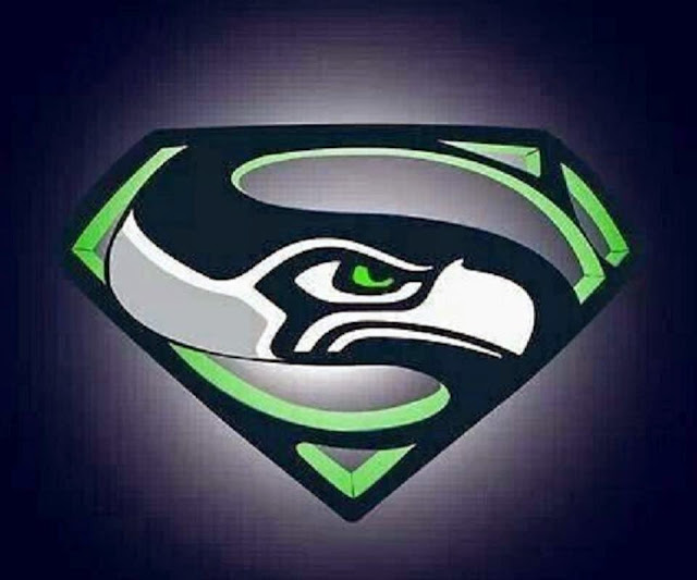 seahawks logo superman