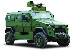 Kendaraan Lapis Baja Amazon 4x4