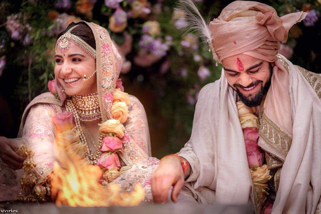 Anushka and Virat Wedding Pics