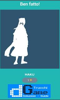 Soluzioni Quiz Naruto livello 31