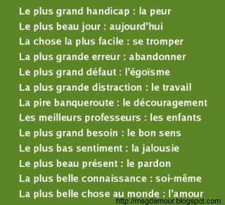 citation et proverbe en image