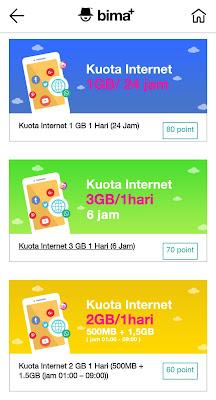 Tukar Tri Points Dengan Kuota Internet