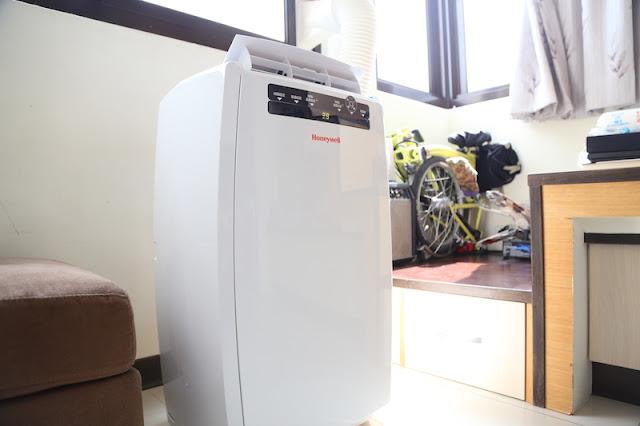 [科技] [家電] Honeywell 移動式空調 MN12CHESWW :冷氣 / 暖氣 / 除濕 / 風扇四機一體,租屋族、老屋救星