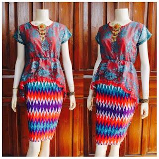 model dress batik kebaya online rang rang