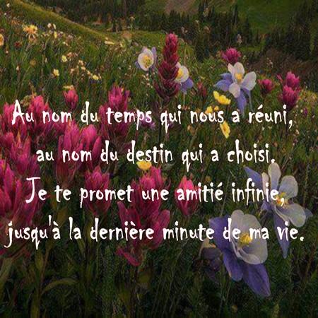 Textes Et Messages Damitié Poèmes Et Textes Damour