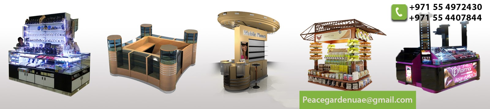 Kiosk Needs For Every Occasion Like Kiosk For Shopping Malls, Candy