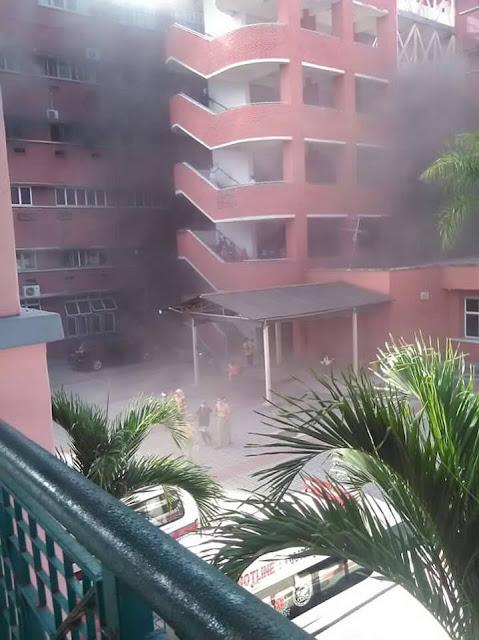 TERKINI | Kebakaran di Hospital Sultanah Aminah HSA 25 Oktober 2016
