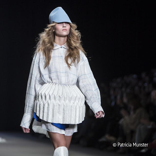 Felt cap by De Hoedenmaker, Tess van Zalinge Fashion Show 2017