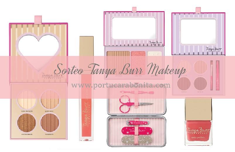 Sorteo de productos de maquillaje Tanya Burr (Cerrado)