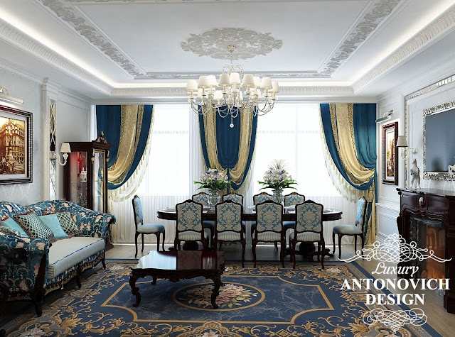 luxury drawing room curtain designs for living room dining room combo