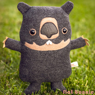 FlatBonnie-Wombat-Plush-stuffed-animal-flat-bonnie-kawaii