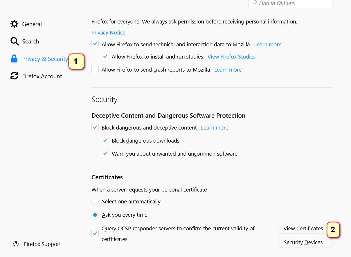 Tutorial Cara Install Sertifikat Elektronik Pada Browser Mozilla Firefox