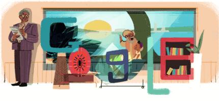 """جوجل يحتفل بميلاد الروائى السودانى الكبير """"الطيب صالح"""""""