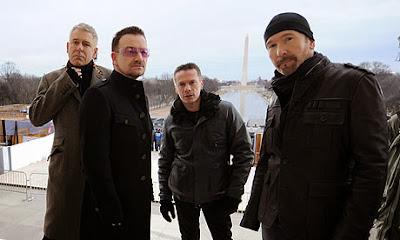 Daftar 10 Lagu Terbaik dan Terpopuler U2