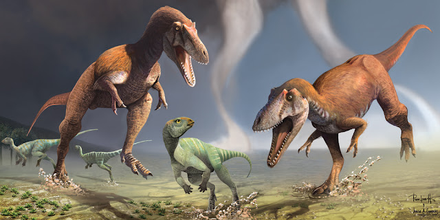 Newly discovered dinosaur had 'T. rex arms' that evolved independently