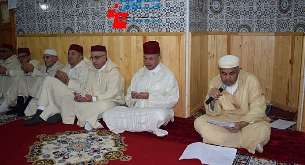 عامل اقليم تارودانت يترأس حفلا دينيا بمناسبة الذكرى 19 لوفاة المغفور له الحسن الثاني (+الصور)