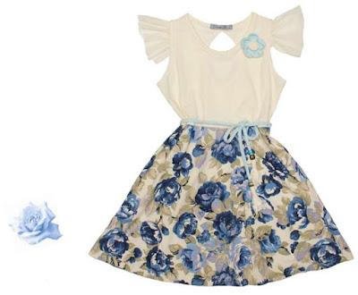Vestidos de moda para nenas primavera verano 2018.