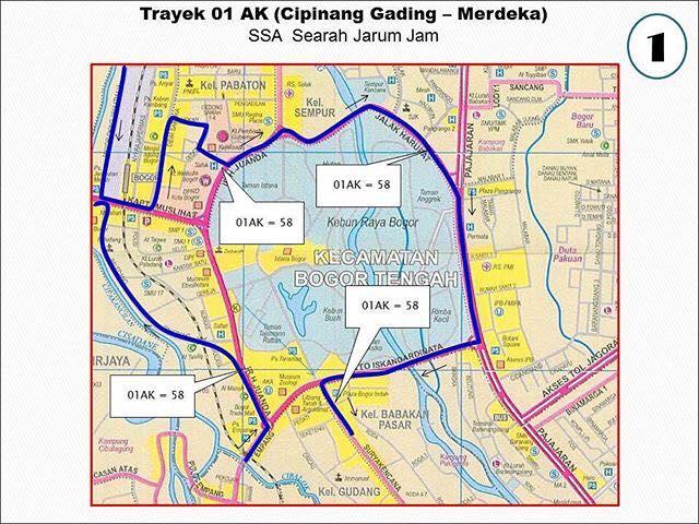 Rute Angkot Cipinang Gading-Merdeka