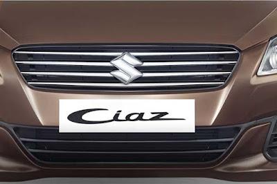 New Maruti Suzuki Ciaz front bumper