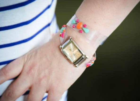 reloj, relojes de muñeca, bisutería, correa reloj plástico