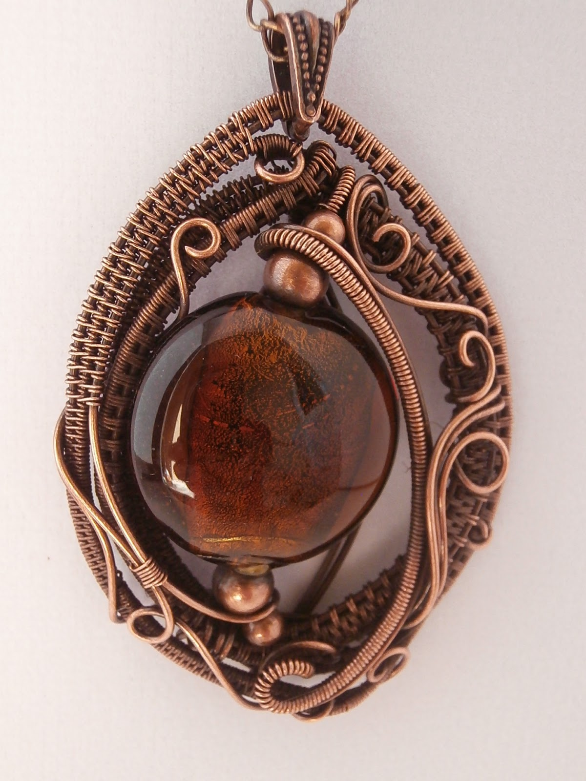Perfectly Twisted Handmade Wire Wrapped Beaded and ...