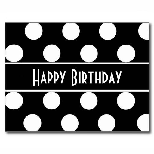 Tarjetas de Cumpleaños en Blanco y Negro IMÁGENES PARA WHATSAPP u00ae y Fotos para perfiles