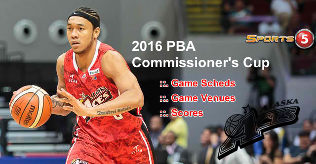 List of Alaska Aces 11 Games Elimination Round 2016 PBA Commissioner's Cup