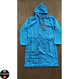 Hijacket Urbanashion SKY BLUE [Biru Langit] Hijacket Original Casual PREMIUM FLEECE