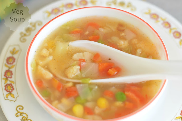 how to make corn veg soup