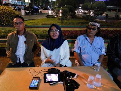 Posko Demokrasi Akan Laporkan Panwas Kabupaten/ Kota Ke Polda Lampung