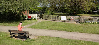 Miniature Railway at South Park in Cheadle Hulme